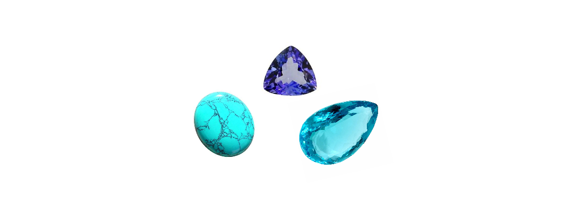 December – Tanzanite, Zircon and Turquoise