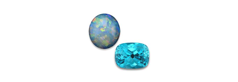 October – Opal and Tourmaline